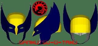 Wolverine Mask Papercraft