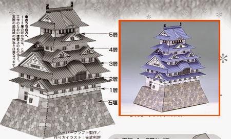 himeji-castle-papercraft