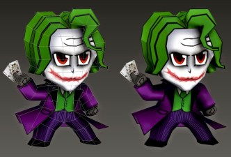 SD Joker Papercraft