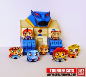 Mini Thundercats Papercraft