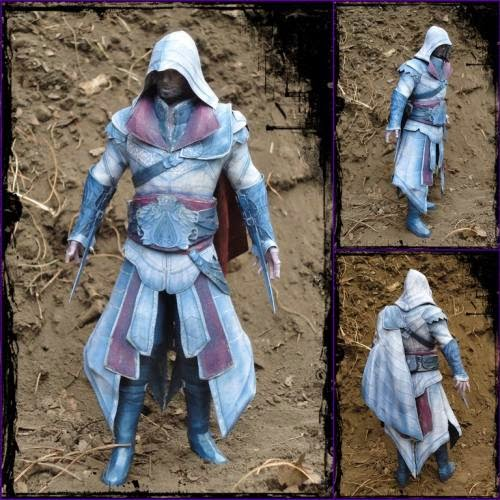 Assassins-Creed-Brotherhood-Papercraft