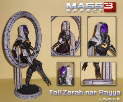 tali_zorah_nar_rayya_papercraft__citadel_dlc__by_daishihun-d8eecya