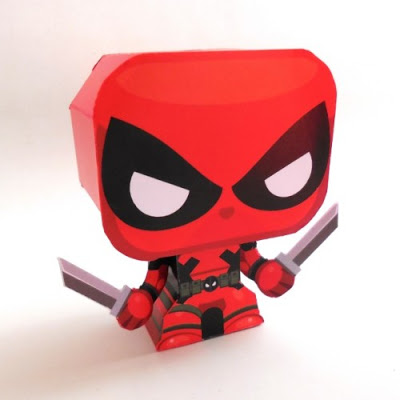 Deadpool-Papertoy