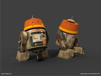 Star Wars Rebels Papercraft - Chopper