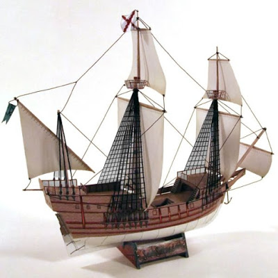 Spanish-Galleon-Paper-Model