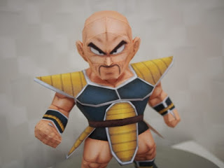 Dragon Ball - Chibi Nappa Papercraft