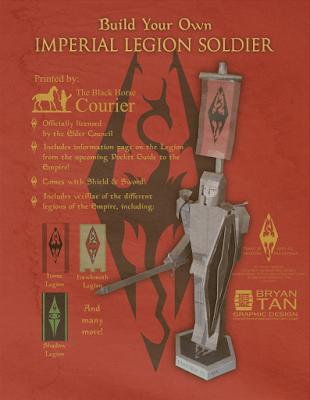 Oblivion - Imperial Legion Soldier Papercraft
