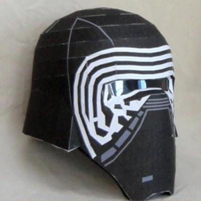 Star-Wars-Kylo-Ren-Helmet-Papercraft