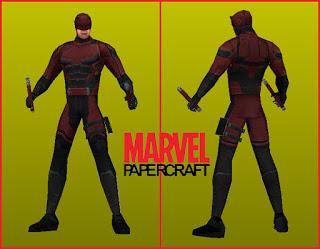 Marvel Daredevil Papercraft