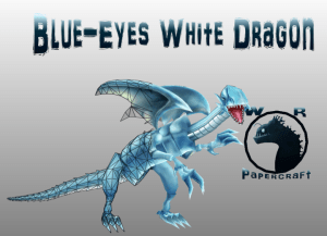Dragón Blanco de Ojos Azules