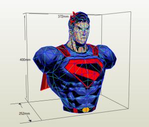 Superman papercraft