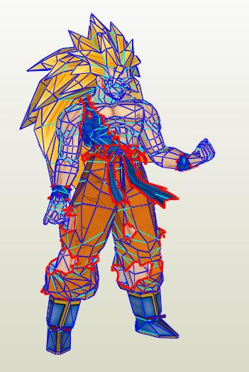 Goku SSJ3 HD