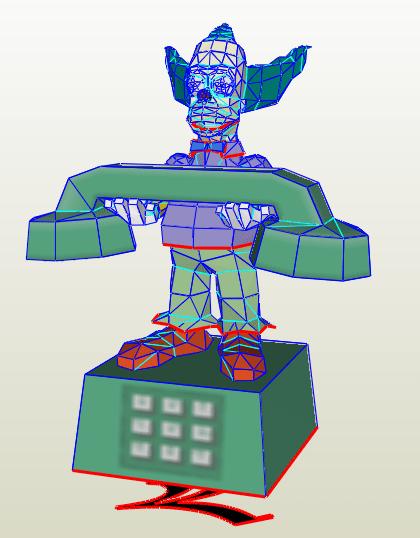 Teléfono Krusty el payaso