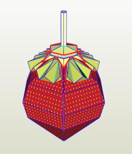 Fresa papercraft
