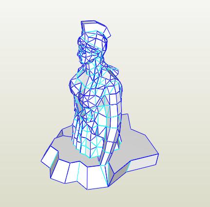 Estatua atena