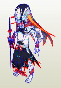 Papercraft Ichigo