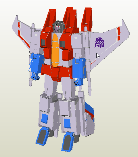 StarsCream papercraft