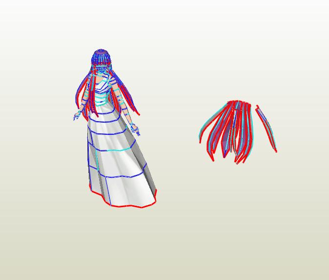 Atena papercraft