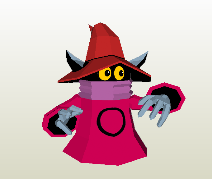 Papercraft Orco