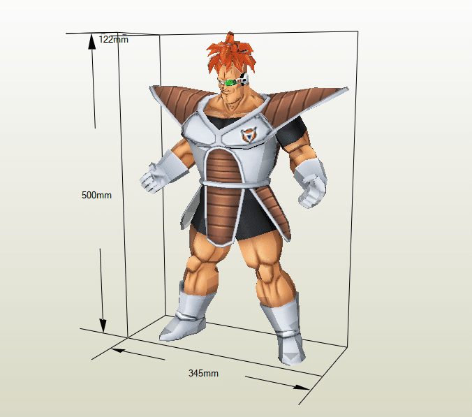 Recoome papercraft