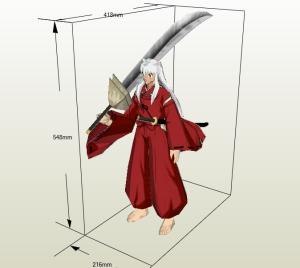 Inuyasha papercraft