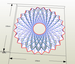 Mandala decorativa