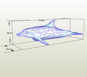 Delfín LowPoly