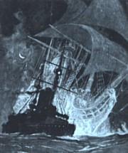 La historia del Holandés Errante ha inspirado a otros muchos autores, incluido el poeta alemán Heinrich Heine.