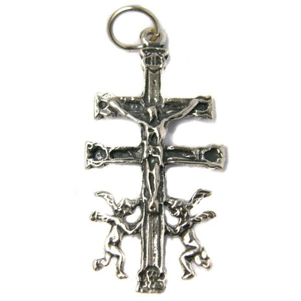 Cruz de Caravaca en el paladar