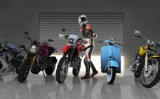 Moto Traffic Race 2 APK MOD imagen 1