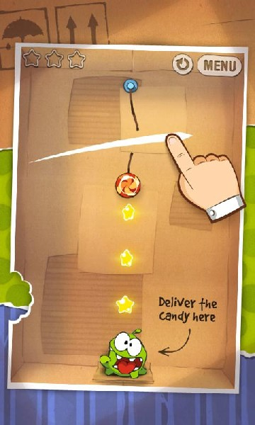 Cut the Rope FULL FREE APK MOD imagen 2