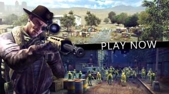 Last Hope Sniper - Zombie War APK MOD imagen 1