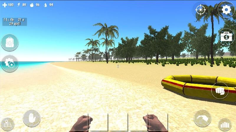 Ocean Is Home Survival Island APK MOD imagen 1