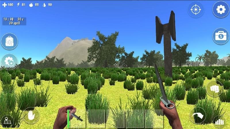 Ocean Is Home Survival Island APK MOD imagen 3