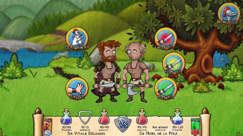 Swords and Sandals Medieval APK MOD imagen 1