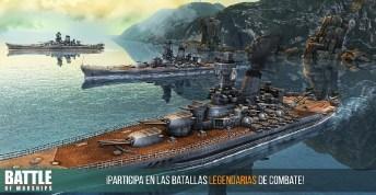 Battle of Warships APK MOD imagen 1