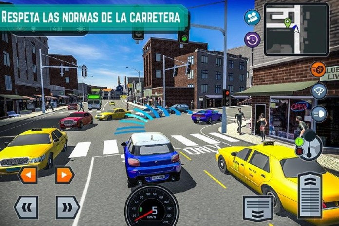 Car Driving School Simulator APK MOD imagen 1