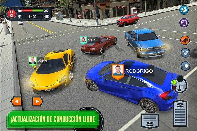 Car Driving School Simulator APK MOD imagen 3