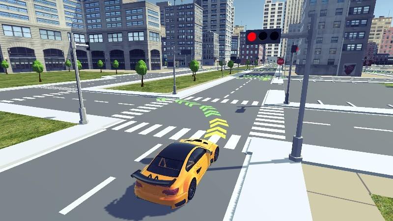 Driving School 3D APK MOD imagen 1