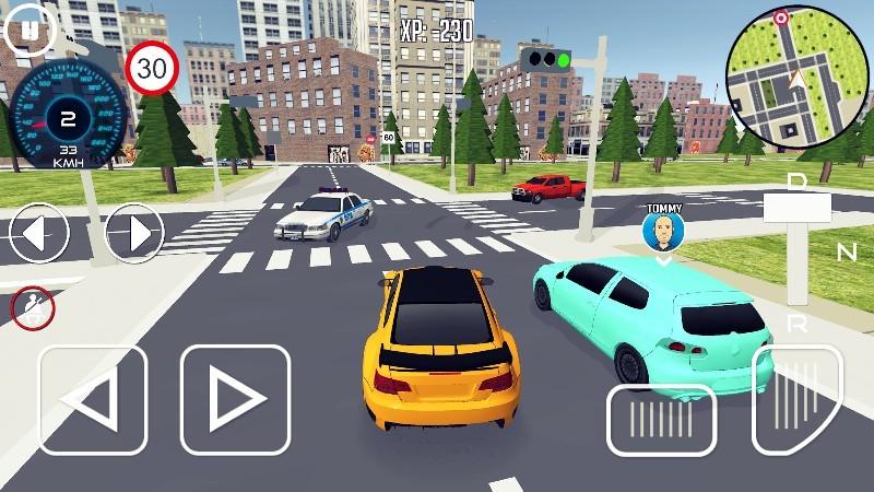 Driving School 3D APK MOD imagen 4
