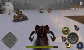 Mech Legion Age of Robots APK MOD imagen 1