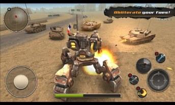 Mech Legion Age of Robots APK MOD imagen 2