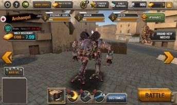 Mech Legion Age of Robots APK MOD imagen 3