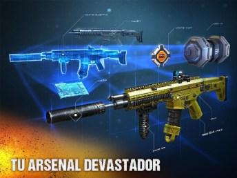 Modern Combat 5 eSports FPS APK MOD imagen 4