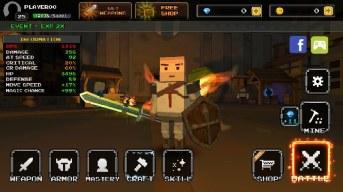 Pixel F Blade - 3D Fantasy rpg APK MOD imagen 1