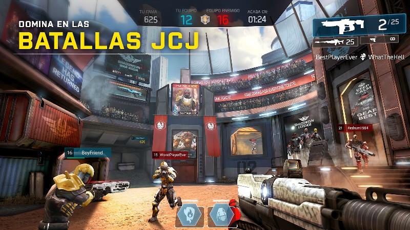 Shadowgun Legends APK MOD imagen 4
