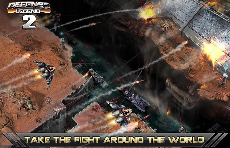 Tower defense-Defense legend 2 APK MOD imagen 1