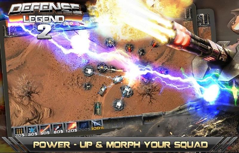 Tower defense-Defense legend 2 APK MOD imagen 2