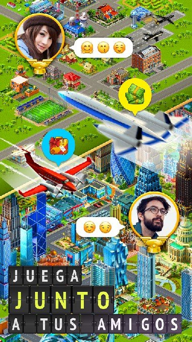 Airport City Airline Tycoon APK MOD imagen 4