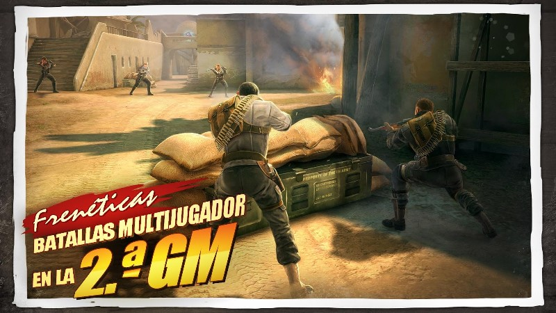 Brothers in Arms 3 APK MOD imagen 1